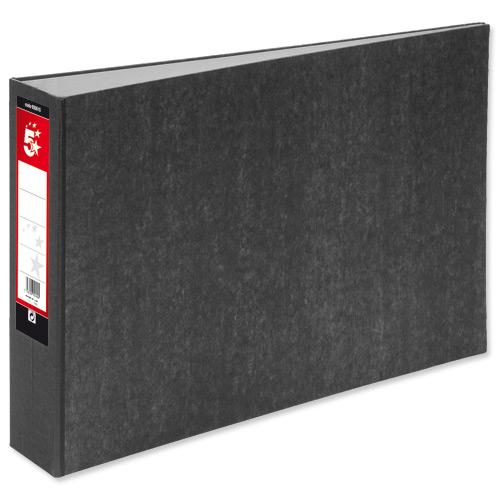 Buy 5 Star Lever Arch File 70mm Spine Oblong Landscape A3 ...