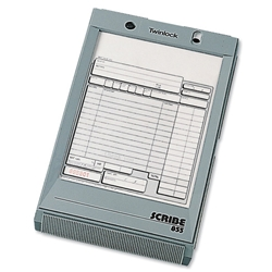 Twinlock Acco Scribe 855 Scribe Register Business Form 216x140mm Ref 71011